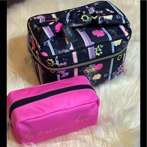 Victoria's Secret Floral Weekender Train Case